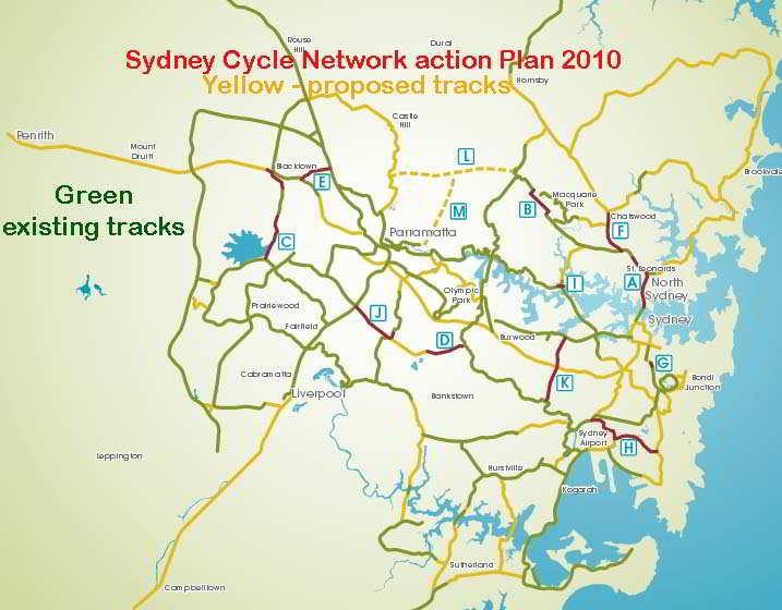 SydneyCycleNetwork2010